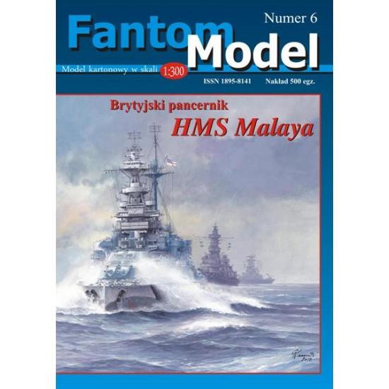 HMS Malaya 1:300