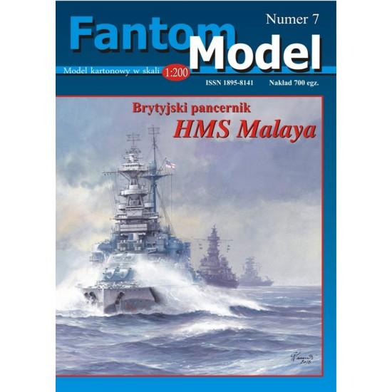 HMS Malaya 1:200