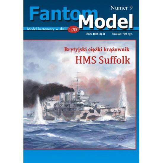 HMS Suffolk 1:200