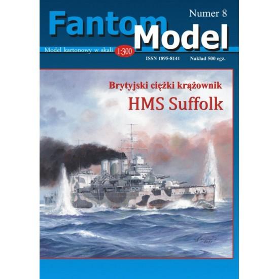 HMS Suffolk 1:300