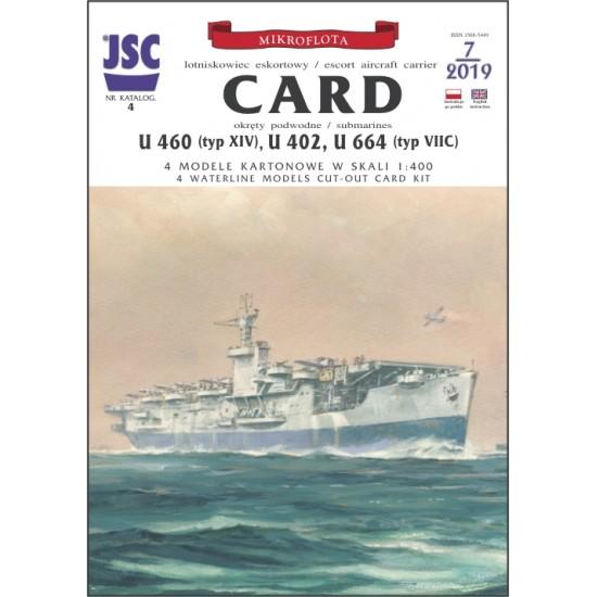 CARD, U460, U402, U664 (JSC 004)