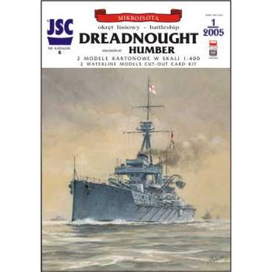 Brytyjski okręt liniowy DREADNOUGHT, monitor HUMBER (JSC 008)
