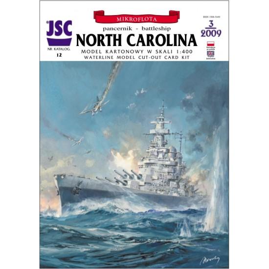 Amerykański pancernik NORTH CAROLINA (JSC 012)