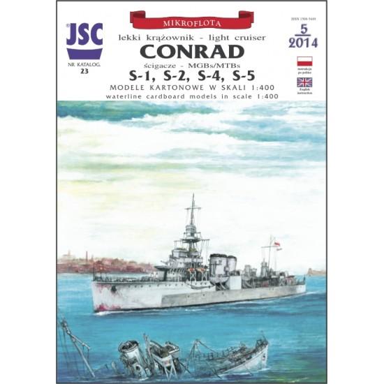 CONRAD, S-1, S-2, S-4, S-5 (JSC 023)