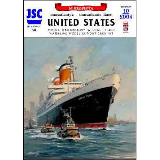 Amerykański supertransatlantyk UNITED STATES (JSC 050)