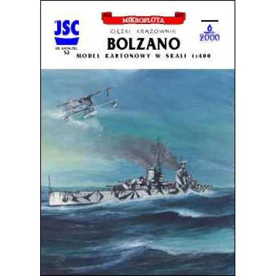 Włoski ciężki krążownik BOLZANO (JSC 052)