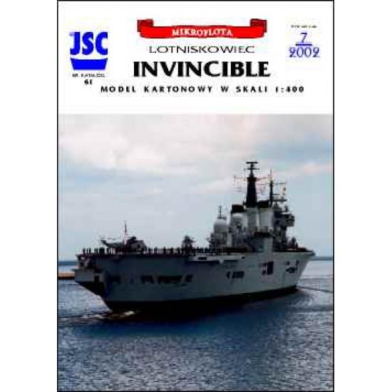 Brytyjski lotniskowiec INVINCIBLE (JSC 061)
