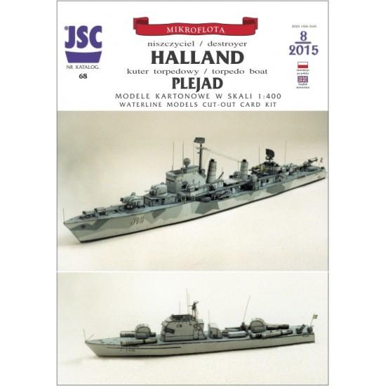 HALLAND, PLEJAD (JSC 068)