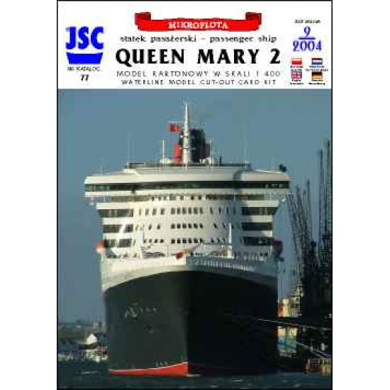 Brytyjski statek pasażerski QUEEN MARY 2 (JSC 077)