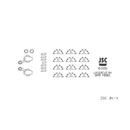 Detale laserowe do lotniskowca SHINANO (JSC 084L)