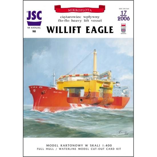 Norweski ciężarowiec wpływny WILLIFT EAGLE (JSC 090)