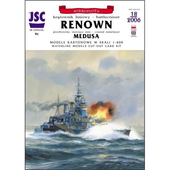 Brytyjski krążownik liniowy RENOWN (JSC 091)