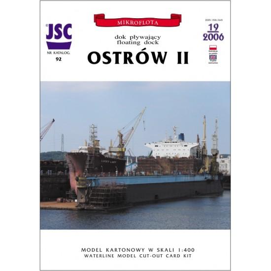 Polski dok pływający OSTRÓW II (JSC 092)