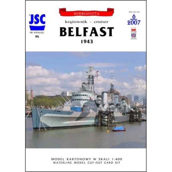 Brytyjski krążownik BELFAST (JSC 095)