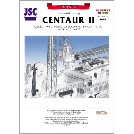 Detale laserowe do polskiego holownika CENTAUR II (JSC 105-L)