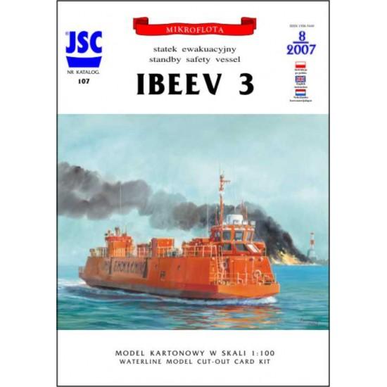 Kazachski statek ewakuacyjny IBEEV 3 (JSC 107)