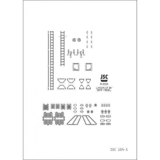 Detale laserowe do polskiego holownika VIRTUS (JSC 109-L)
