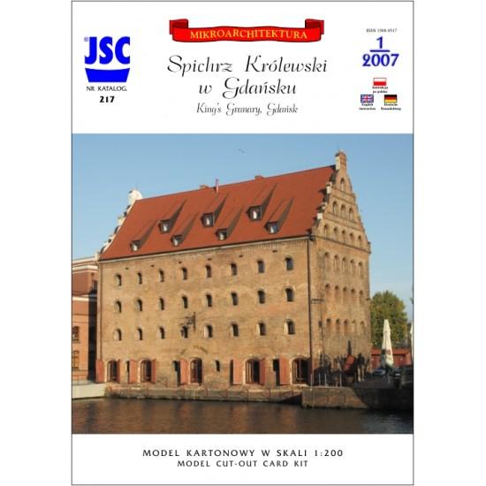 Gdańsk: Spichrz Królewski (JSC 217)