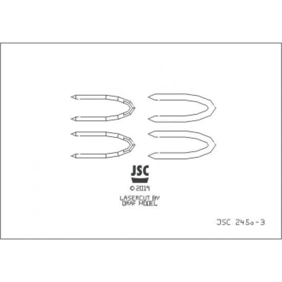 Detale laserowe do indonezyjskiej korwety HASANUDDIN (JSC 245a-L)