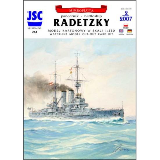 Austro-węgierski pancernik RADETZKY (JSC 263)
