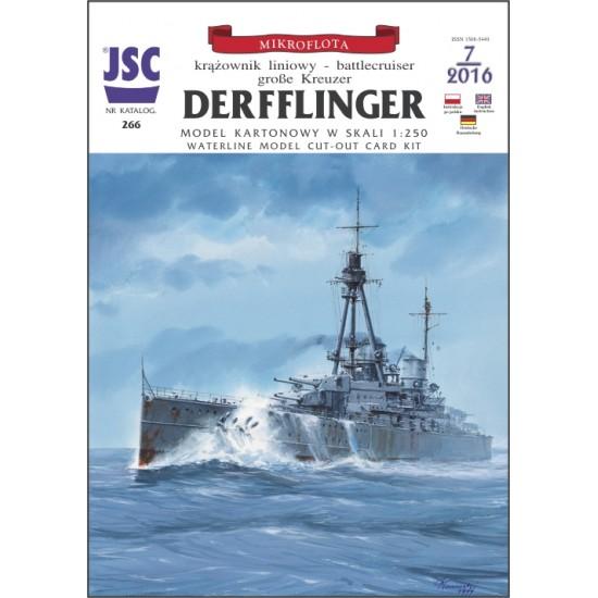 Niemiecki wielki krążownik DERFFLINGER (JSC 266)