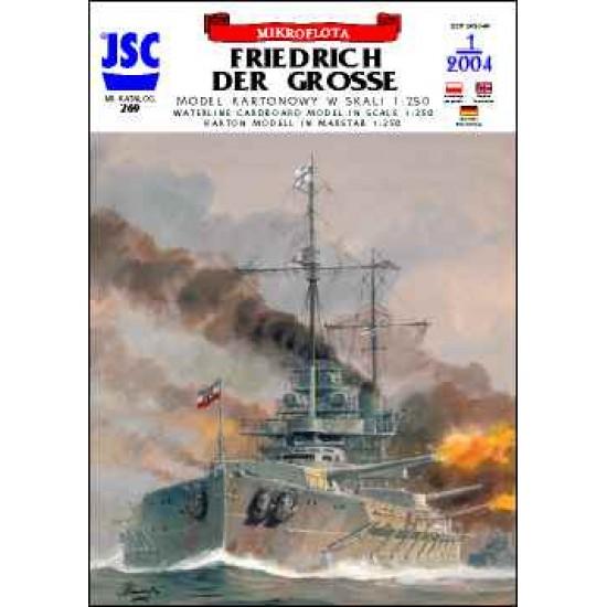 Niemiecki pancernik FRIEDRICH DER GROSSE (JSC 269)