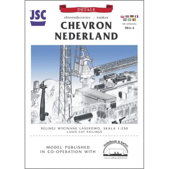 Części wycinane laserowo do modelu CHEVRON NEDERLAND (JSC 301cL)