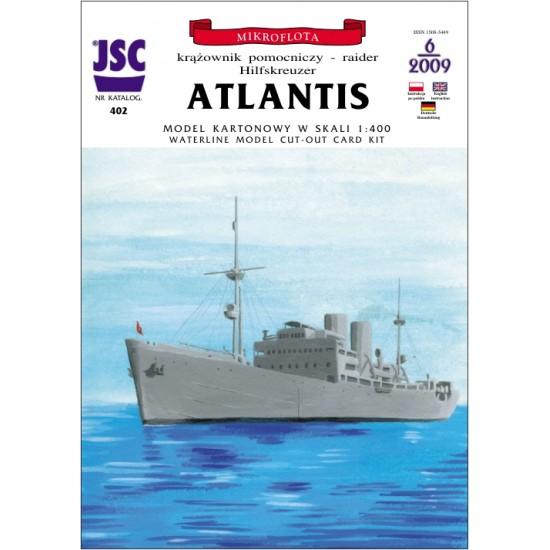 Niemiecki krążownik pomocniczy ATLANTIS (JSC 402)