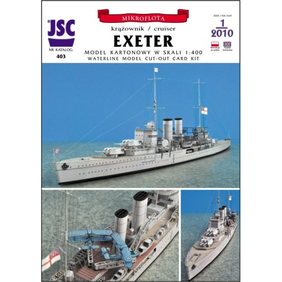 Brytyjski krążownik EXETER (JSC 403)