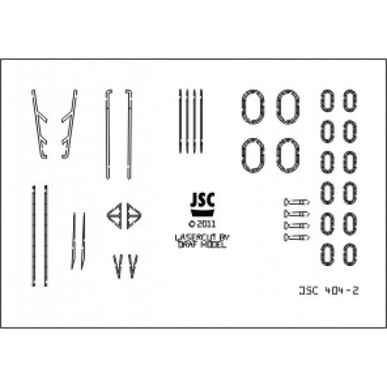 Detale laserowe do krążownika AJAX lub ACHILLES (JSC 404-L)
