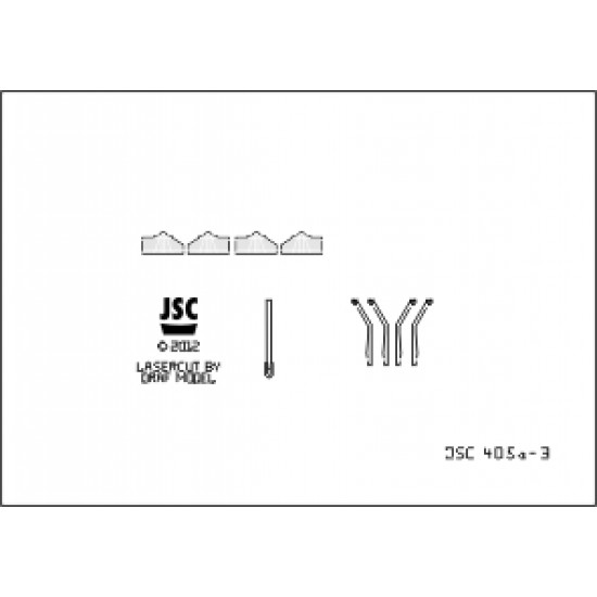 Detale laserowe do zbiornikowca JAHRE VIKING (JSC 405a-L)