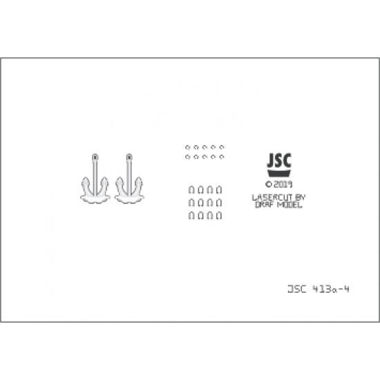 Detale laserowe do statku QUEEN ELIZABETH (JSC 413a-L)