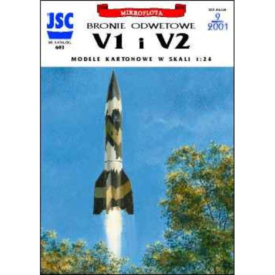 Niemieckie bronie odwetowe: latająca bomba V1, rakieta V2 (JSC 603)