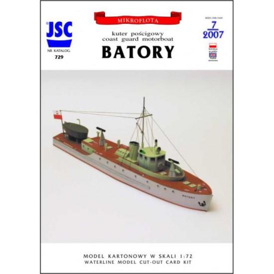 Polski kuter pościgowy BATORY (JSC 729)