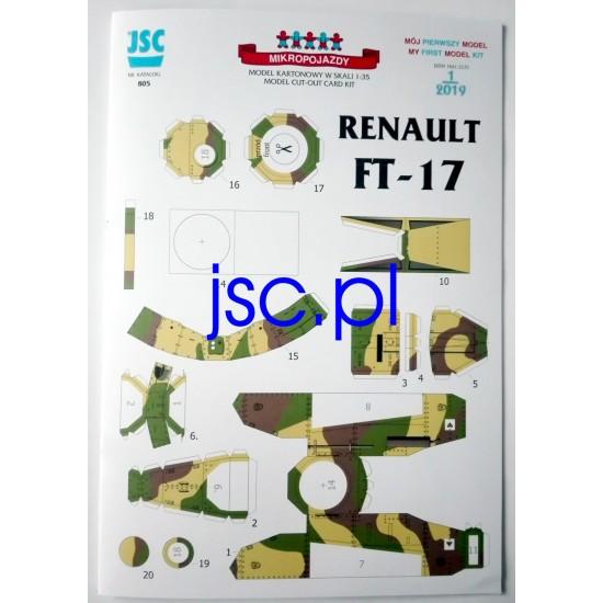 Renault FT-17 (JSC 805)