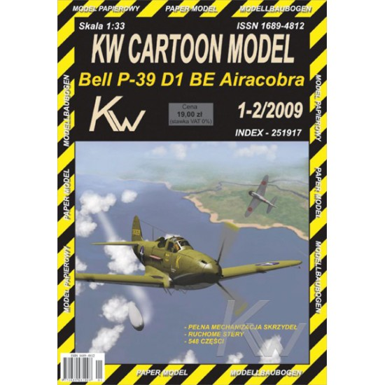 Bell P-39 D1 BE Airacobra