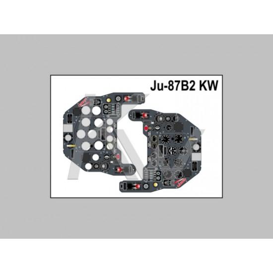 JU-87 B2 Fotorealistyczna tablica przyrządów
