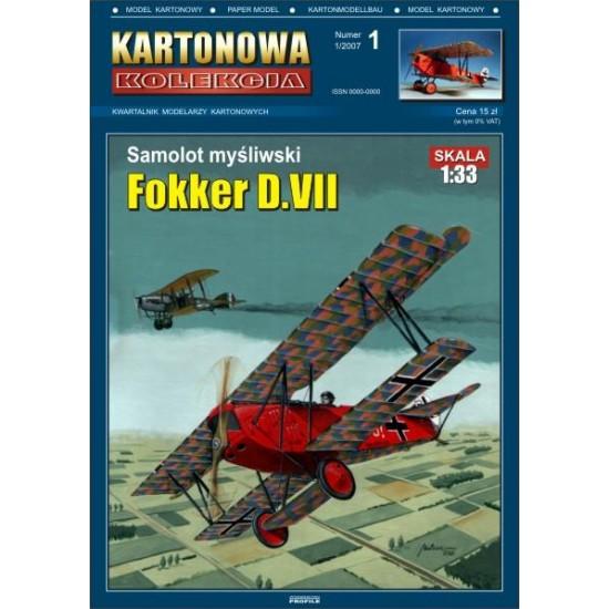 Samolot myśliwski Fokker D.VII.