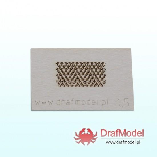 Nakrętki 1,5 mm