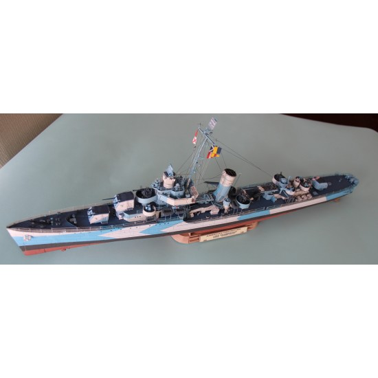 USS Sampson DD-394 (Card Fleet nr 9)