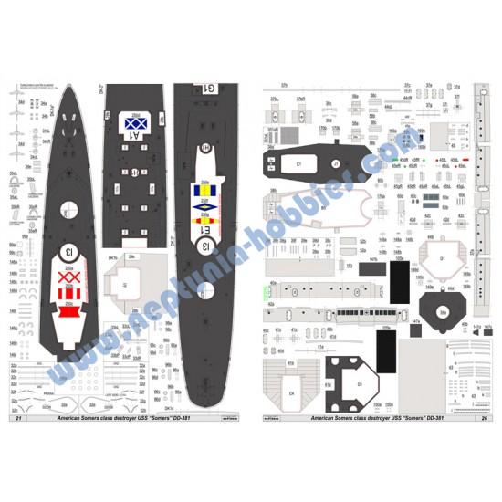 USS Somers DD-381 (Card Fleet nr 7)