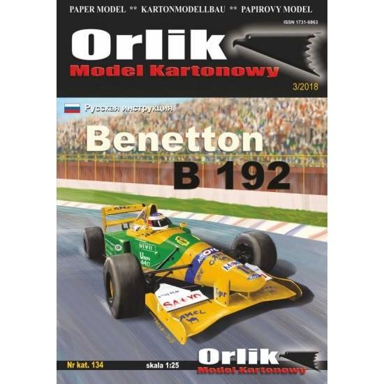 Benetton B 192 (ORLIK 134)