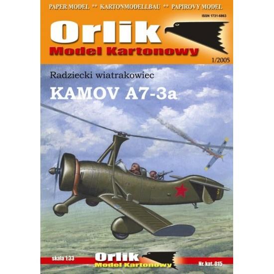 Kamov A7-3a (ORLIK nr 015)