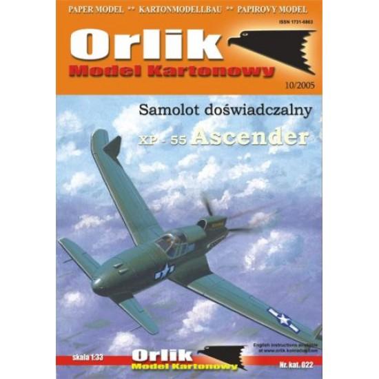 XP-55 Ascender (ORLIK nr 022)