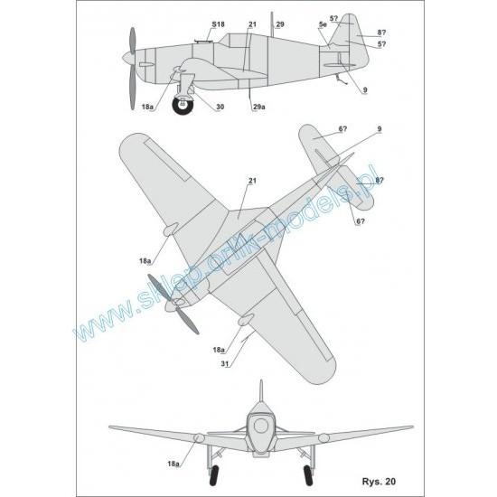 Morane Saulnier M.S. 406 (ORLIK nr 029)