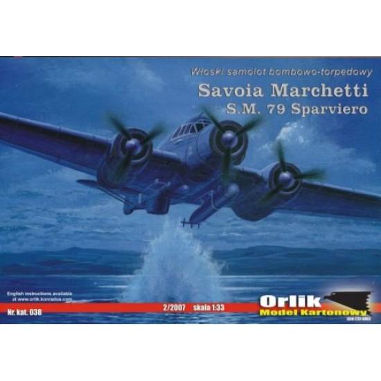 Savoia Marchetti S.M. 79 Sparviero (ORLIK nr 038)