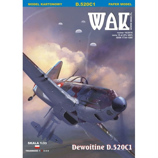 Dewoitine D.520C1 (WAK 10/2014)