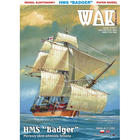 HMS Badger (WAK 11/2017)