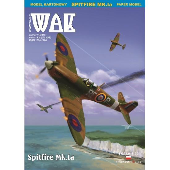 Spitfire Mk. Ia (WAK 11/2018)