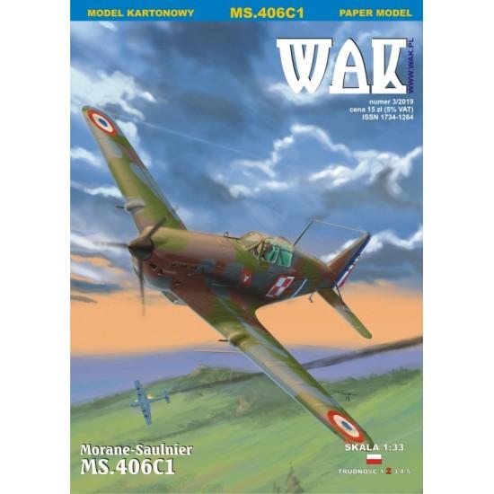 Morane Saulnier MS.406 C1 (WAK 3/2019)